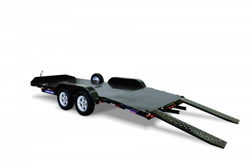 2020 Sure-Trac 7 x 20 STEEL DECK 10K Car / Racing Trailer