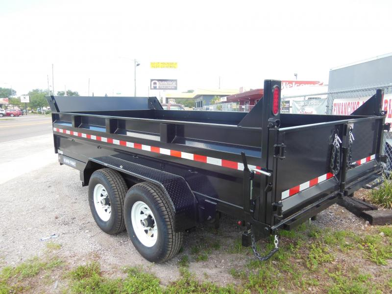 2020 Sure-Trac 7x12 TA 12K SCISSOR Dump Trailer