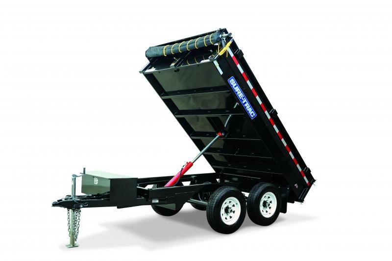 2020 Sure-Trac 6x10 Deckover Standard Duty Dump Trailer