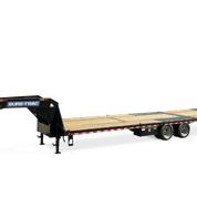 2020 Sure-Trac 8.5X20+10 HD-LP-DO W/ HYDRAULIC BEAVERTAIL 25.9K Equipment Trailer