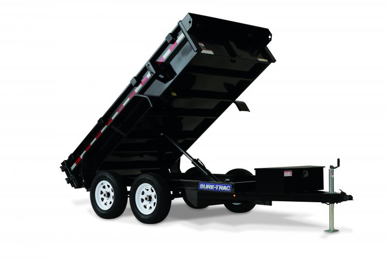 2020 Sure-Trac 5x10 LP Homeowners Dump Trailer