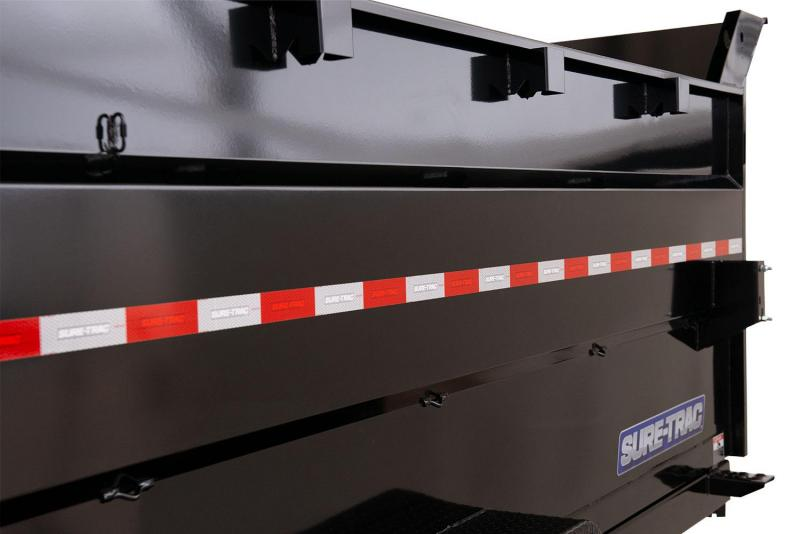 2020 Sure-Trac 7 X 12 4' SIDES 14K SCISSOR Dump Trailer
