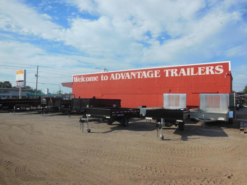 2020 Sure-Trac 6 x 10 SA Steel High Side Utility Trailer