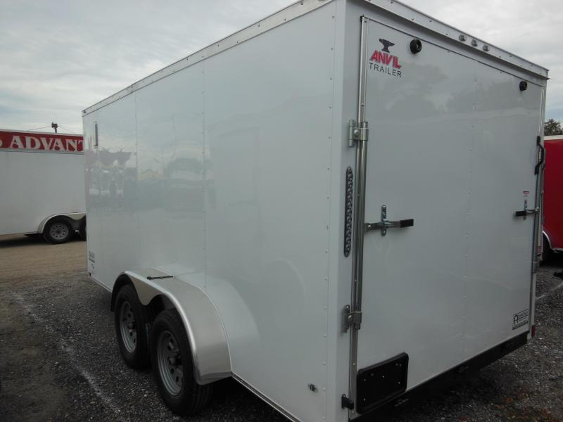 2020 Anvil 7 X 12 TA Enclosed Cargo Trailer