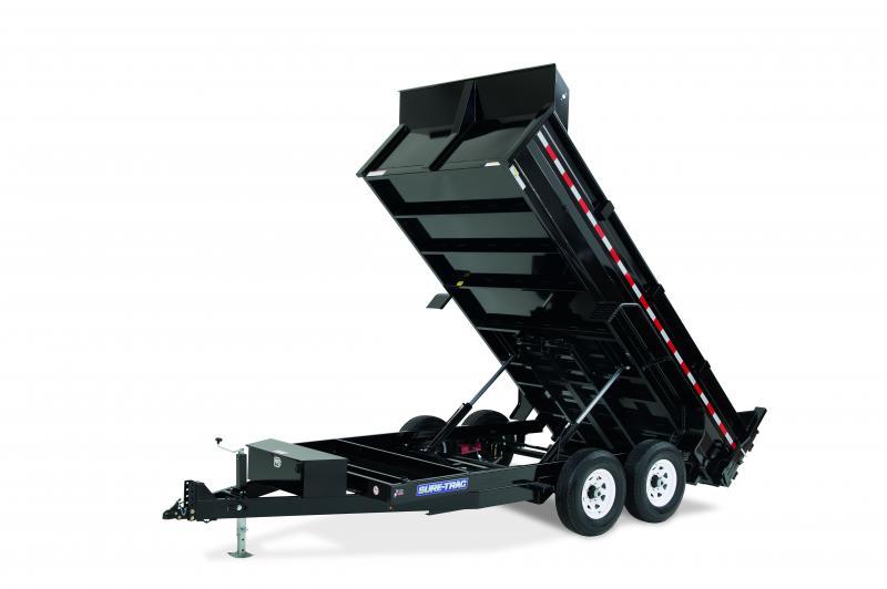 2020 Sure-Trac 7x12 TA 12K Dump Trailer