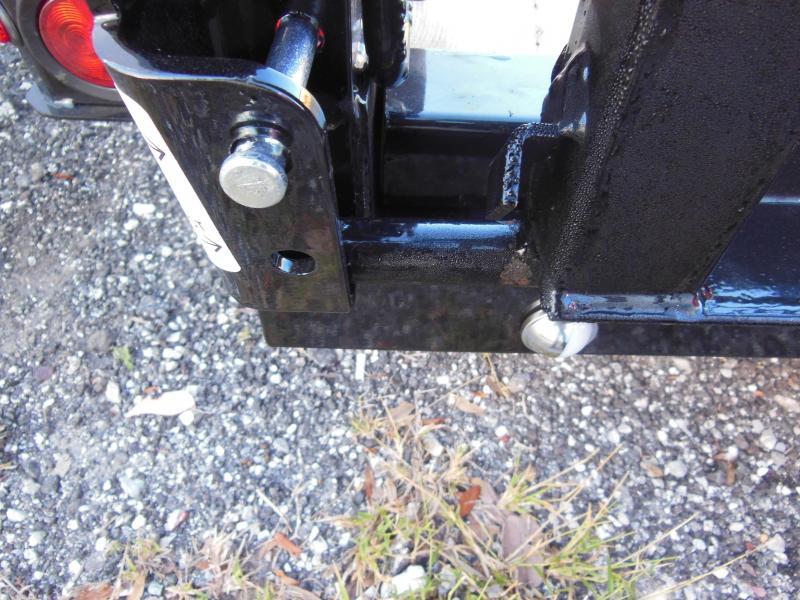 2020 Sure-Trac 6 x 12 SA Steel High Side Utility Trailer