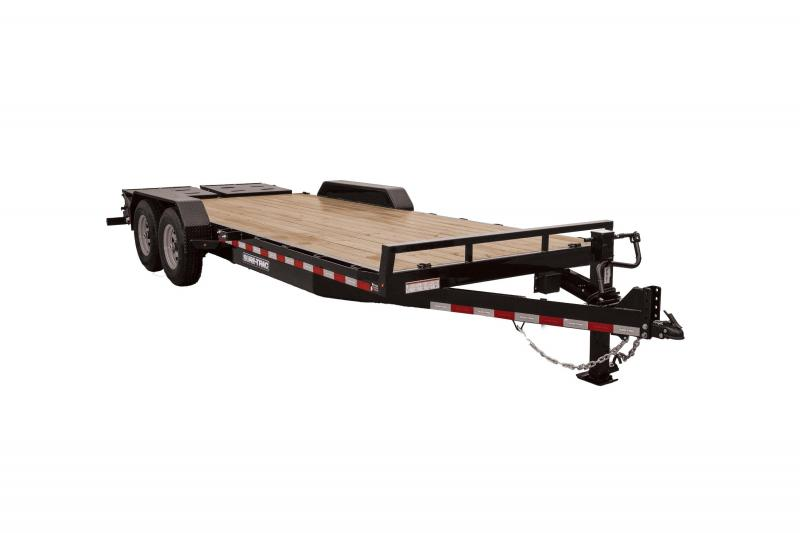 2020 Sure-Trac 7X17+3 UNIVERSAL RAMP IMPLEMENT 14K Equipment Trailer
