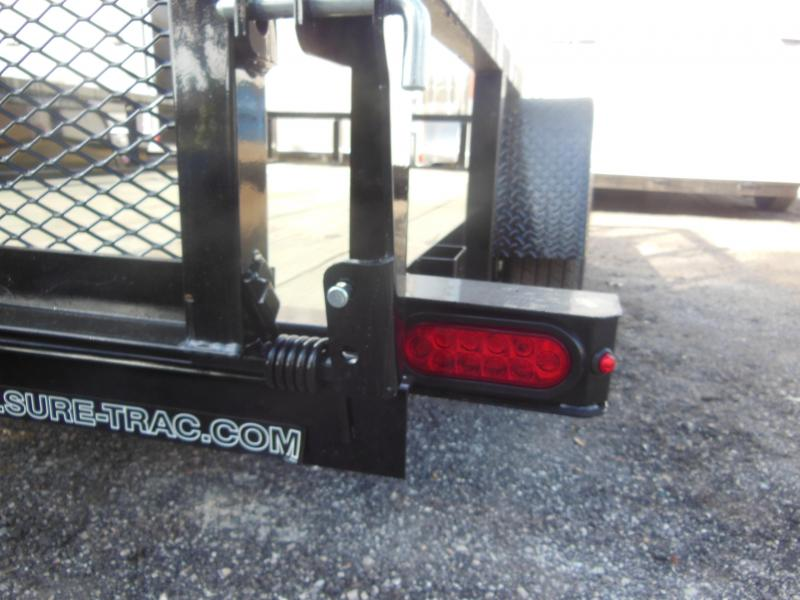 2020 Sure-Trac 7 X 12 SA 3 BOARD HIGH SIDE Utility Trailer