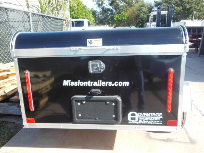 2020 Mission 4 x 6 Multi-Purpose Enclosed Cargo Trailer