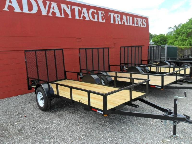 2020 Triple Crown Open Utility Trailers