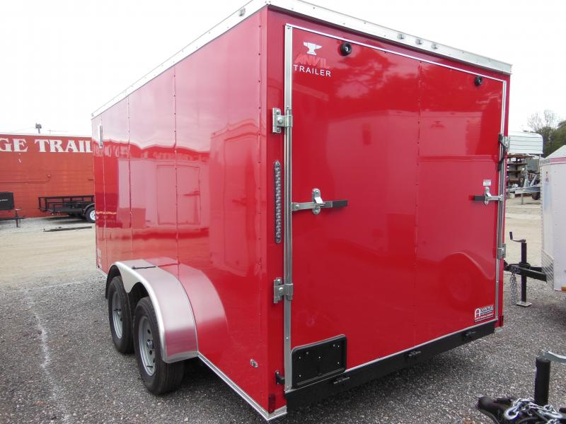 Anvil 7 x 14 TA Landscapers Edition Enclosed Cargo Trailer