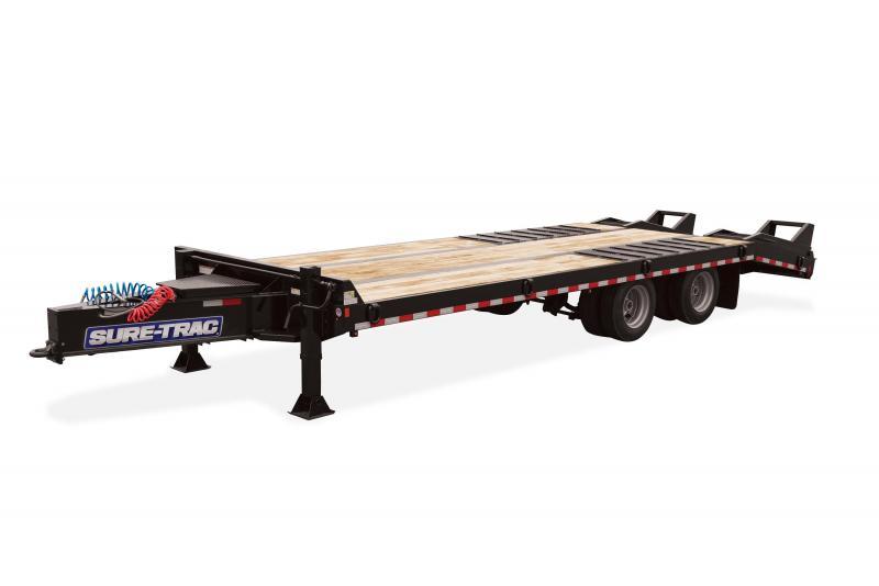 2020 Sure-Trac 8.5X20+5 AIR BRAKE DECKOVER 61K Equipment Trailer