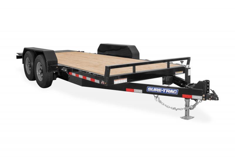 2020 Sure-Trac 7X16 TILT BED TA 10K Equipment Trailer