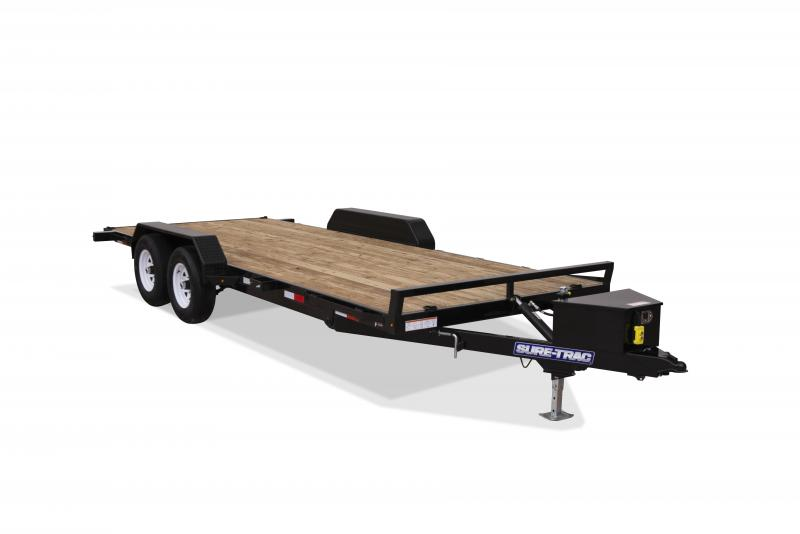 2020 Sure-Trac 7 x 18 TILT DECK 10K Car / Racing Trailer