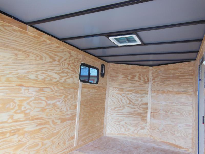 2020 Anvil 7x12 SA Enclosed Cargo Trailer