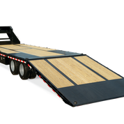 2020 Sure-Trac 8.5X20+10 HD-LP-DECKOVER W/ HYDRAULIC BEAVERTAIL Equipment Trailer
