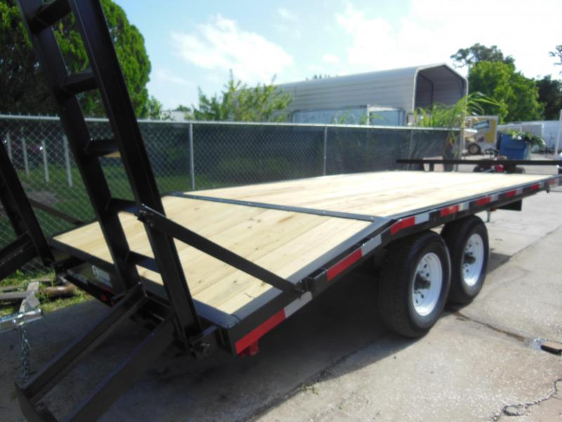 SPRING SALE! 2020 Triple Crown Trailers 8 x 18 DECKOVER Equipment Trailer