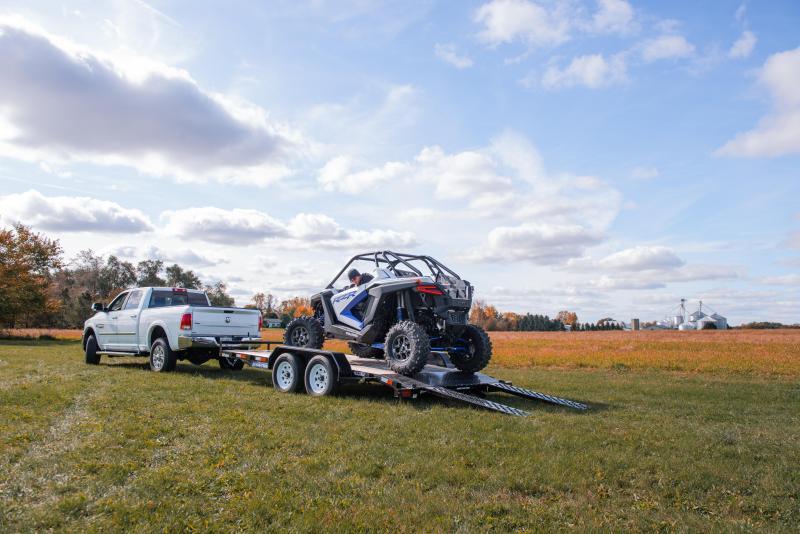 2020 Sure-Trac 7x14 SKID STEER 10K Equipment Trailer