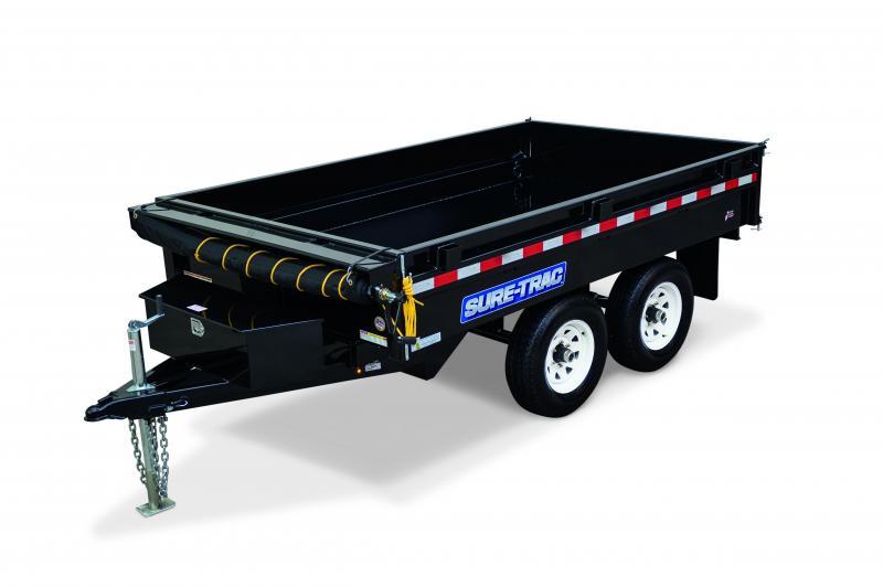 2020 Sure-Trac 6x10 Deckover Sandard duty 10K Dump Trailer