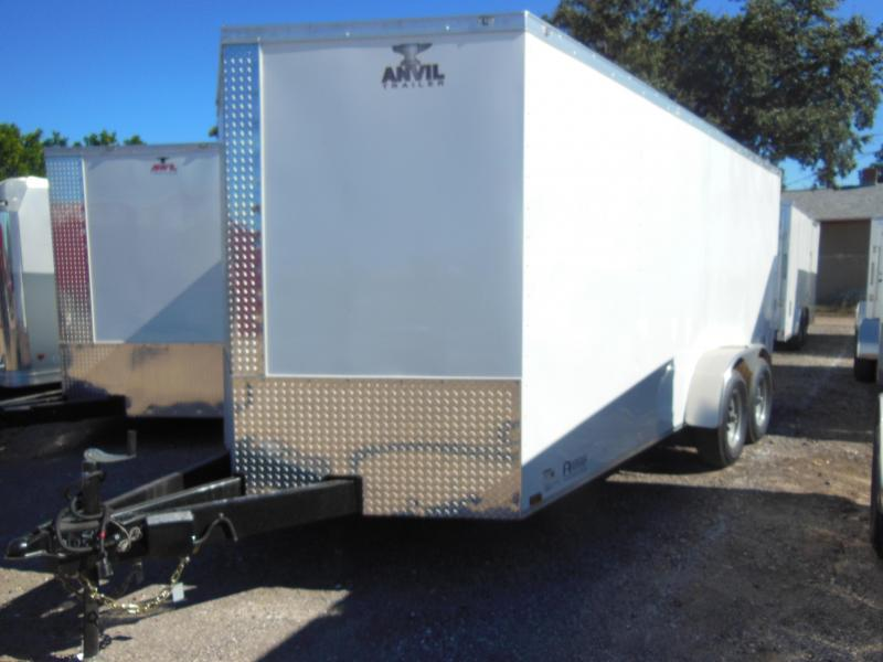 2020 Anvil 7 X 16 Contractor Enclosed Cargo Trailer