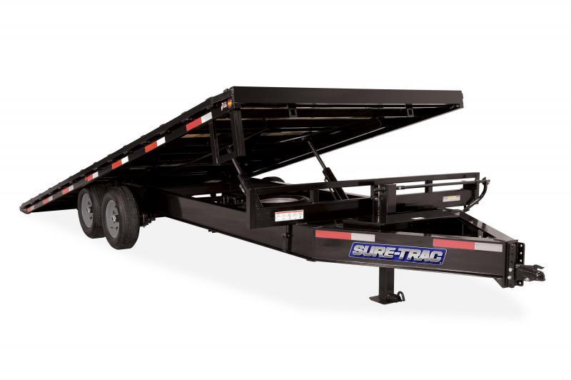 2020 Sure-Trac 8.5X22 TILT DECK- HD-LP- DECKOVER 15K Equipment Trailer