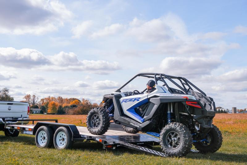 2020 Sure-Trac 7 x 16 7K Wood Deck Car / Racing Trailer