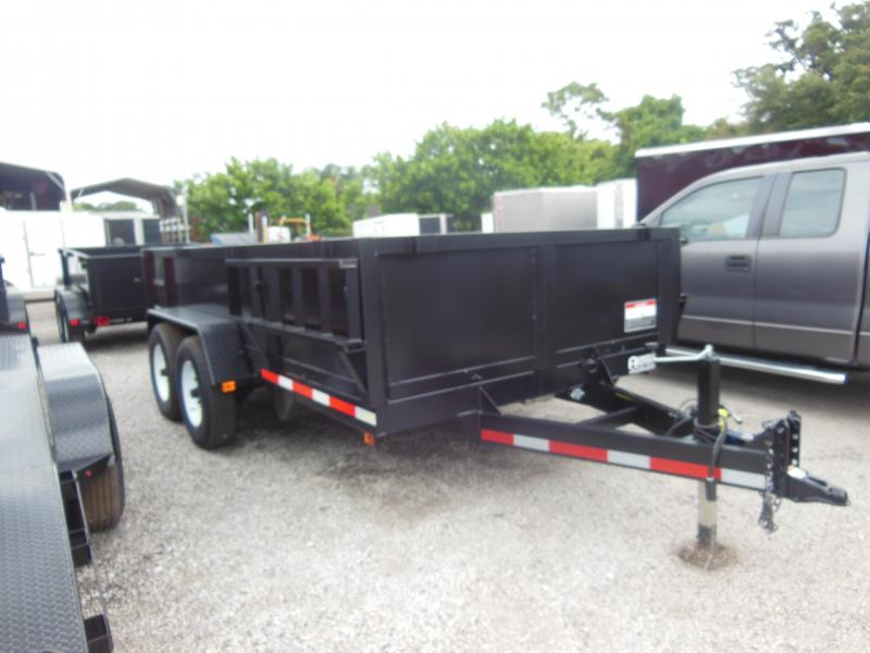 ON SALE 2020 Triple Crown Trailers 7 X 14 LP 14K Dual Ram Dump Dump Trailer
