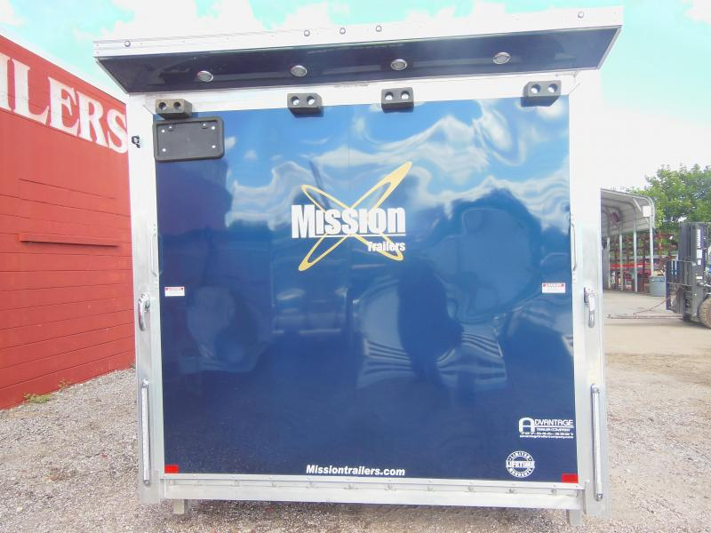 2020 Mission PINNACLE 7.5 X 14 Motorcycle Trailer