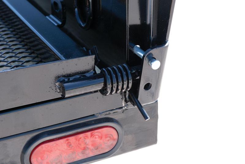2020 Sure-Trac 7 x 16 TA Solid Steel Side Utility Trailer