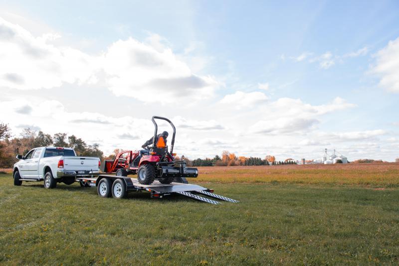 2020 Sure-Trac 7 X 18 SKID STEER 14K Equipment Trailer