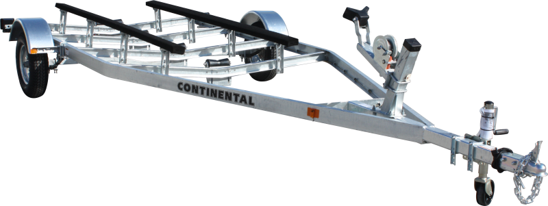 Continental Trailers EW1620V GALVANIZED KEEL ROLLER Boat Trailer