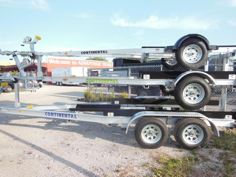 Continental Trailers A2812B D rive on Boat Trailer