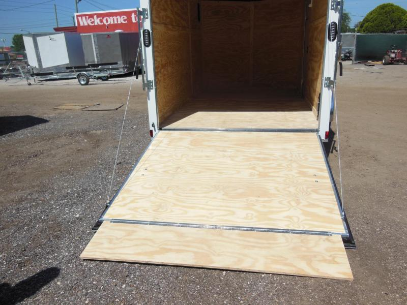 Anvil 7 x 16 TA Landscapers Enclosed Cargo Trailer
