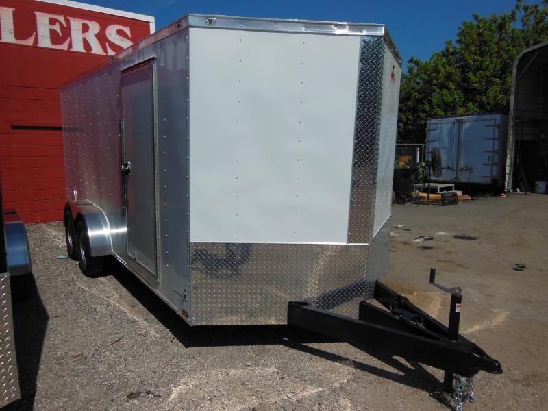 Anvil 7 x 16 TA Landscapers Enclosed Cargo Trailer