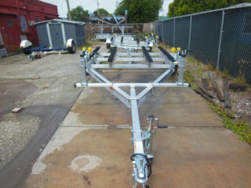 DOUBLE JET-SKI - AWC25E Aluminum double PWC Watercraft Trailer