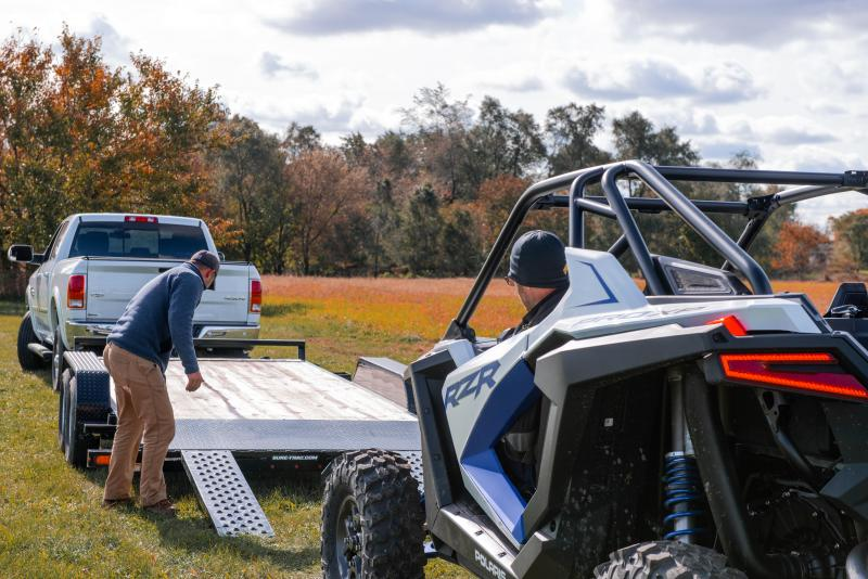 2019 Sure-Trac 7 x 20 Wood Deck 7K Car / Racing Trailer