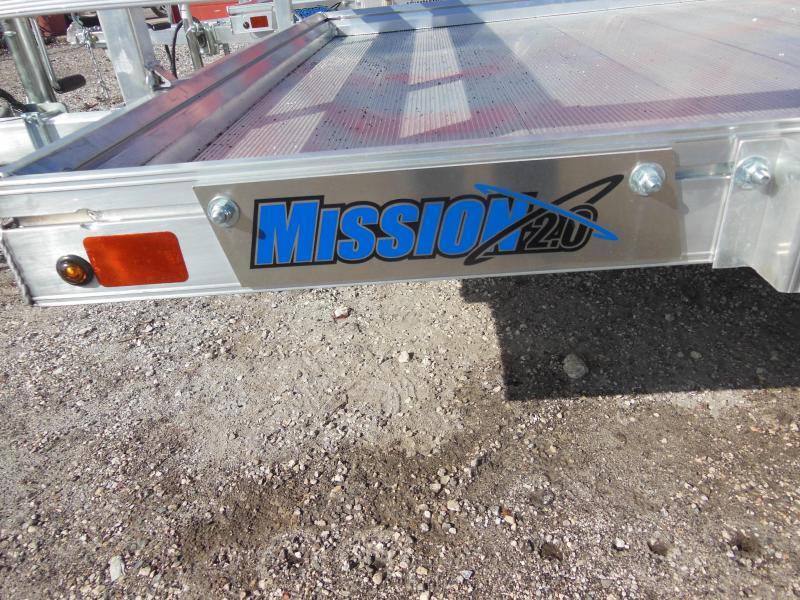 2020 Mission 6x12 ALUMINUM Utility Trailer