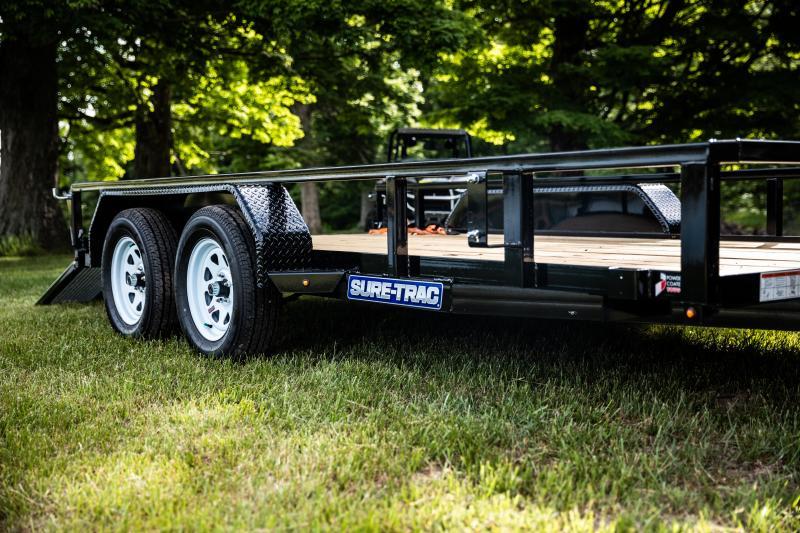 2020 Sure-Trac 7 x 20 TA 7K Utility Trailer