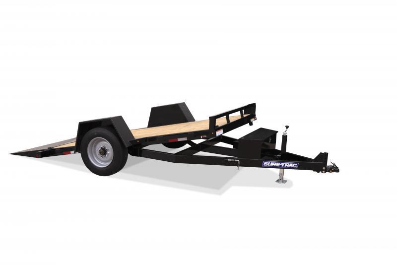 2020 Sure-Trac 6.5X12 TILT SA 7.8K Equipment Trailer