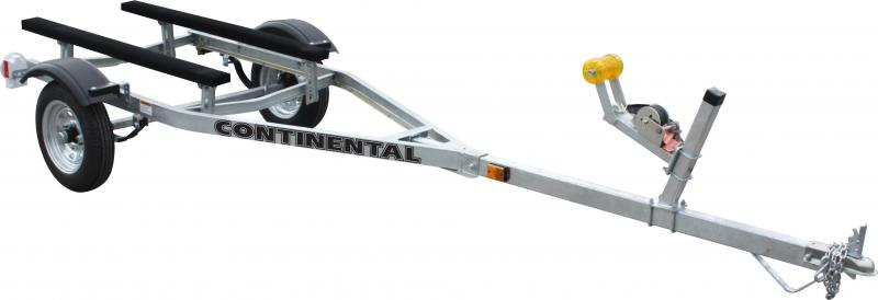Continental Trailers EC212 GALVANIZED KEEL ROLLER Boat Trailer