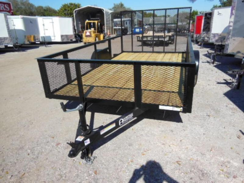 Triple Crown Trailers Open 6X12- 2' mesh sides Utility Trailer
