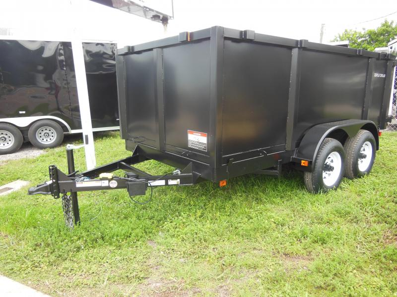 2020 Triple Crown Trailers 6 x 12 4' sides Dump Trailer