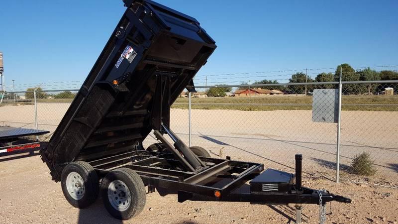 2020 Load Trail 5' x 10' Bumper Pull 7k Dump
