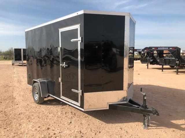 2020 Salvation Trailer 6 X 12 SA Enclosed Rear Ramp
