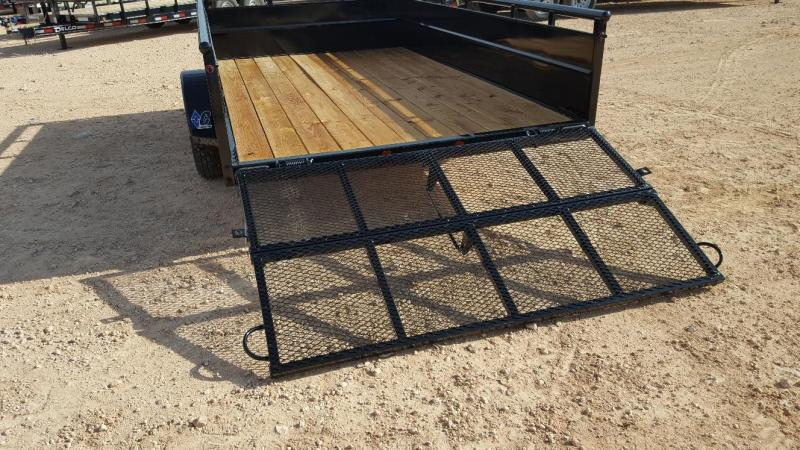2019 DIAMOND C 12' Utility Trailer