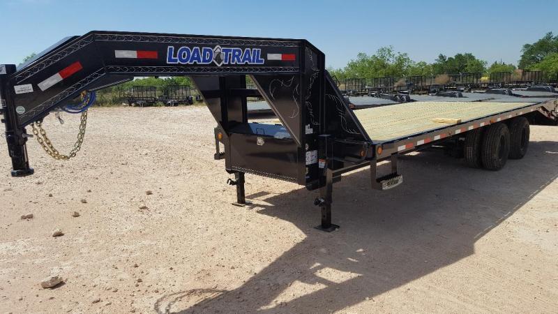 2019 Load Trail 25' Gooseneck 24K GVW w/ MAX Ramps