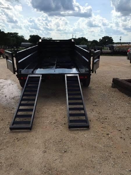 "2020 83""x 12' Gooseneck Dump Trailer w/ 4' Sides and Tarp"