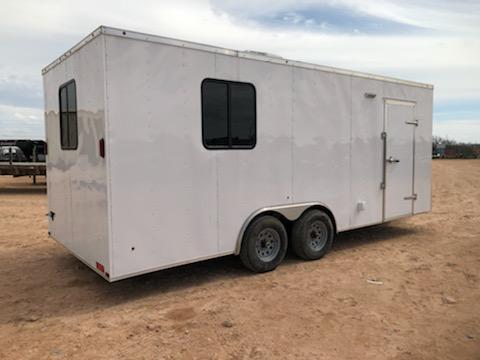 2020 Salvation Trailers 8.5X20 ENCLOSED OFFICE TRAILER Enclosed Cargo Trailer