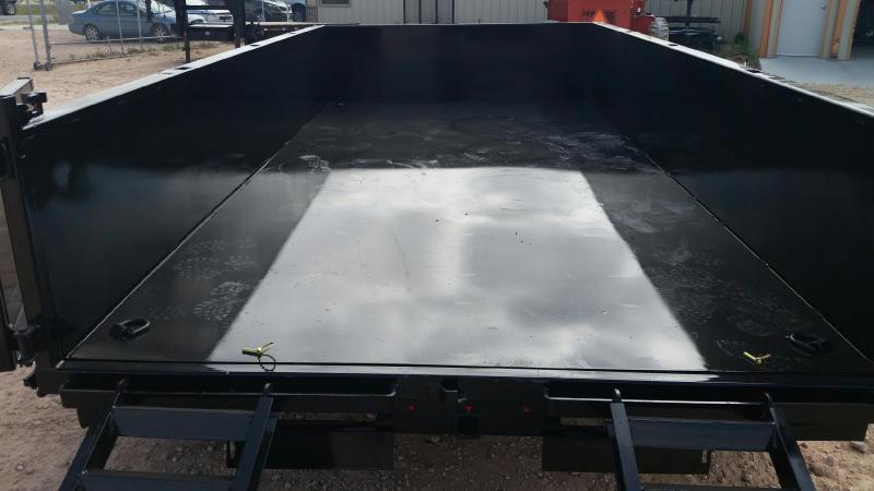 2020 Load Trail 10' 9990 GVW Scissor Lift Dump Trailer