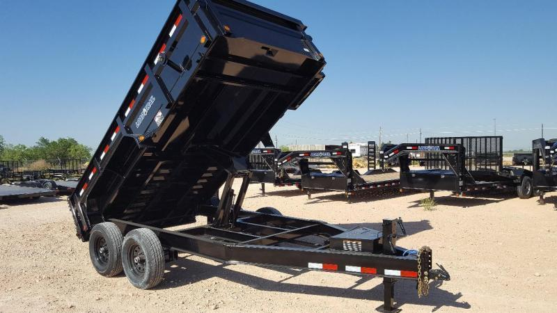 2020 Load Trail 10' 9990 GVW Scissor Lift Dump Trailer